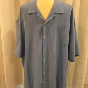 Big Men's Silk Shirt